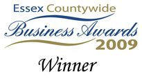 Essex Countywide Business Awards Winner 2009 & 2010